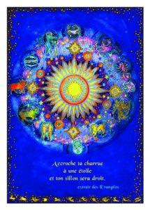 Zodiaque, peinture de Myrrha